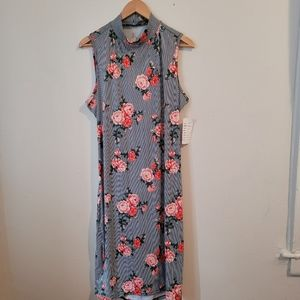 French Atmosphere floral dress
